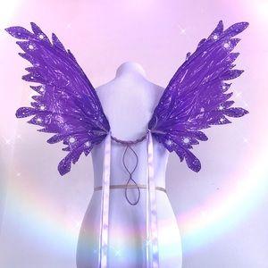 🦋⚡️ LED Fairy Wings